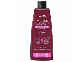 JOANNA Ultra Color PINK Hair Rinse 150ml - tónovací vlasová voda (přeliv) - růžová