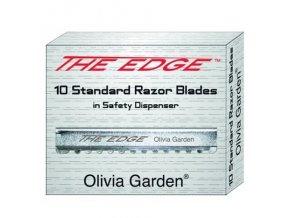 OLIVIA GARDEN The Edge Razor Blades 10ks - žiletky do břitvy Olivia Garden Edge Razor