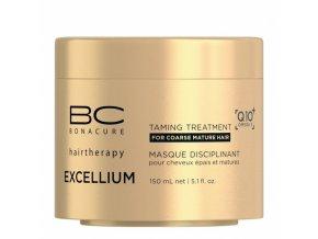 SCHWARZKOPF BC Excellium Taming Treatment 150ml - uhlazující kúra pro krepaté vlasy