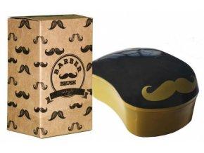 DESSATA Original Barber Brush Mini - Profesionální kartáč na rozčesávání vousů