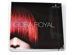 Schwarzkopf Professional Igora Royal Premium vzorník permanentních barev na vlasy - velký