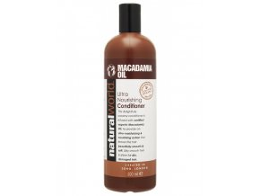 NATURAL WORLD MACADAMIA Oil Conditioner 500ml - hydratační vlasový kondicioner