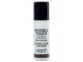 NIAMH HairKoncept DARK BROWN Invisible Touch 75ml - korektor ve spreji - tmavě hnědý