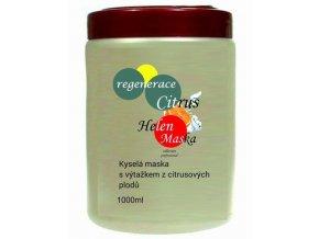 HELEN Regenerace Cirtus 1000ml - kyselá maska pro barvené vlasy s výtažkem z citrusových plodů
