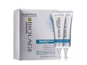 MATRIX Biolage KeratinDose Concentrate 10x10ml - koncentrovaná kúra s keratinem