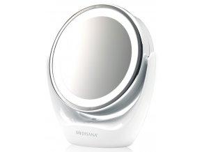 MEDISANA CM 835 Oboustranné kosmetické zrcátko s osvětlením 2v1 - průměr 12cm