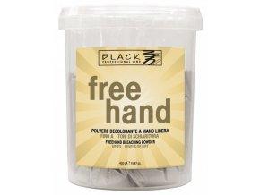 BLACK Melír Free Hand 450g - velmi silný melírovací prášek se zesvětlením až o 5 tónů