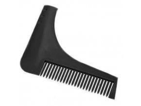 THE BEARD SHAPER Hřeben ve tvaru L pro symetrické tvarování a úpravu vousů