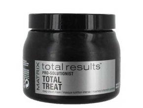 MATRIX Total Results Pro Solutionist Treat Mask 500ml - maska na extrémně poškozené vlasy