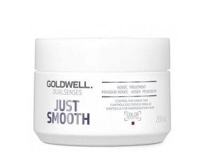 GOLDWELL Dualsenses Just Smooth 60sec Treatment 200ml - uhlazující maska pro krepaté vlasy