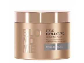 SCHWARZKOPF Blond Me Cool Blondes Tone Enhancing Bonding Mask 200ml - maska pro ledovou blond