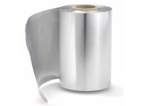 RONNEY Foil Kadeřnický alobal na melír 250m - stříbrný - síla 14 mikronů