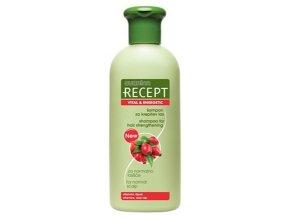 SUBRINA Recept Vital Energetic Shampoo 400ml - šampon pro podporu růstu vlasů