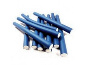 DNA Evolution DARK BLUE Flex Rollers 12ks - papiloty na vlasy 24x240mm - tm. modré