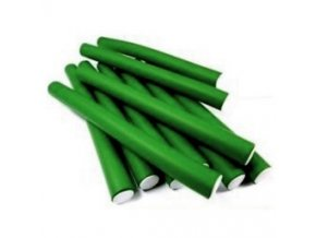 DNA Evolution GREEN Flex Rollers  12ks - papiloty na vlasy 22x240mm - zelené