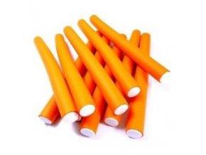DNA Evolution ORANGE Flex Rollers  12ks - papiloty na vlasy 16x240mm - oranžové