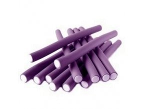 DNA Evolution PURPLE Flex Rollers  12ks - papiloty na vlasy 20x240mm - fialové