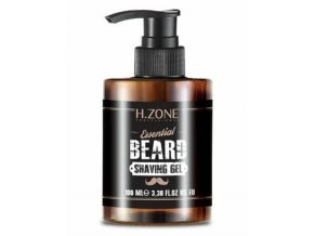 H-ZONE Essential Beard Shaving Gel 100ml - gel na holení