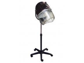 FOX Air Black Profesionální dvourychlostní sušící helma na stojanu - černá