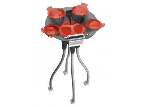 FOX Nábytek Jelly Fish Color Asistent - pojízdný barvicí pracovní vozík