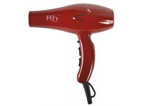 FOX Pirolo Red Výkonný kadeřnický fén s ionizátorem 2100W - červený