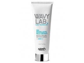 NIAMH Wavy Lab Modeling Gel Defined Curls 150ml - tvarující gel pro vlny a kudrliny