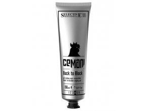 SELECTIVE Cemani Back To Black 150ml - smývatelný krycí silně tužící gel - černý