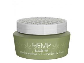SELECTIVE Hemp Sublime Mask 250ml - intenzivni hydratační maska a konopným olejem