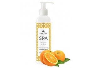 KALLOS SPA Masage And Body Oil 200ml - masážní olej s pomerančovým olejem