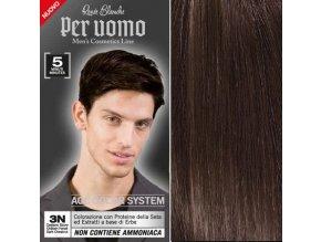 RENEÉ BLANCHE Per Uomo 3N Dark Chestnut - 5min. barva na vlasy pro muže - tmavě hnědá