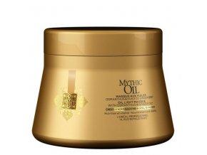 LOREAL Mythic Oil Light Masque Fine Hair 200ml - olejová maska pro jemné a normální vlasy