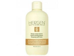 BES Hergen G1 Šampon 400ml - intenzivní výživná péče na suché vlasy