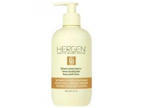 BES Hergen G3 Bezoplachový balzám 400ml - intenzivní výživná péče