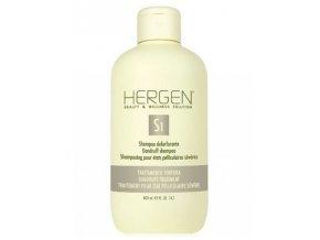 BES Hergen S1 Šampon 400ml - intenzivní péče proti lupům
