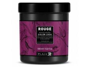 BLACK Rouge Mask Color Lock 1000ml - maska na barvené vlasy proti blednutí barvy