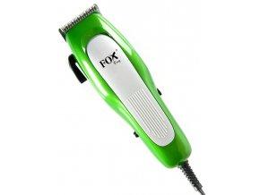FOX Frog Profesionální strojek na vlasy s kabelem - zelený
