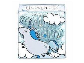 INVISIBOBBLE Original Light Blu 3ks - Spirálové gumičky do vlasů - průhledné modré