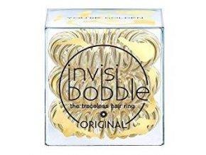 INVISIBOBBLE Original Light Gold 3ks - Spirálové gumičky do vlasů - průhledné zlaté