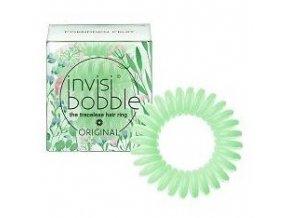 INVISIBOBBLE Original Garden Fruit 3ks - Spirálové gumičky do vlasů - světle zelené