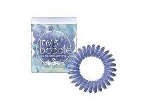 INVISIBOBBLE Original Lucky Fountain 3ks - Spirálové gumičky do vlasů - světle modré