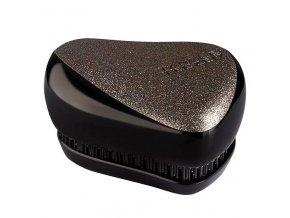 TANGLE TEEZER Compact Glitter Gem - limitovaná edice kompaktního kartáče