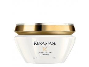 KÉRASTASE Elixir Ultime Le Masque 200ml - luxusní vlasová maska s obsahem vzácných olejů