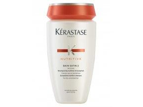 KÉRASTASE Nutritive Bain Satin 2 Irisome 250ml - šampon pro suché, jemné a citlivé vlasy