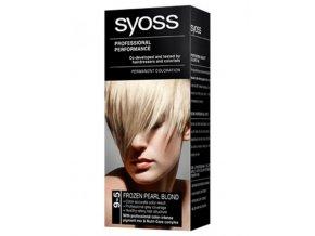SYOSS Professional Permanentní barva na vlasy - Ledově perleťově plavý 9-5