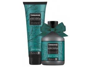 BLACK Turquoise Gift Shampoo 300ml + Turquoise Maschera 250ml - dárkový balíček