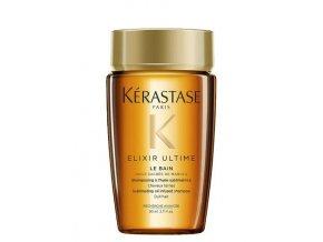 KÉRASTASE Elixir Ultime Le Bain Shampoo 80ml - luxusní šampon s obsahem vzácných olejů