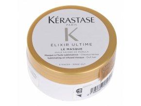 KÉRASTASE Elixir Ultime Le Masque 75ml - luxusní vlasová maska s obsahem vzácných olejů