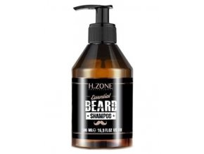 H-ZONE Essential Beard Shampoo 500ml - Šampon na vousy