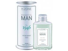 H.ZONE Essential Man No.1946 After Shave Tonic 100ml - voda po holení, jemně kořeněná vůně