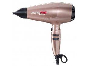 BABYLISS PRO 7000 IRGE RAPIDO GOLD ROSE 2200W - lehký profi fén na vlasy s ionizátorem - růžový